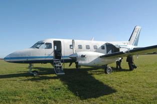 En 2009 Carmelo registró 2.700 operaciones aéreas