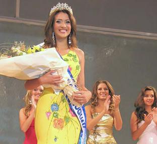 Cinthia D'Ottone fue elegida Miss Universo Uruguay 2009