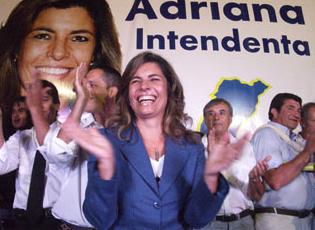 Adriana Peña, la primera mujer  electa intendenta en Lavalleja